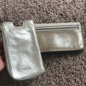 Phone case and matching wallet